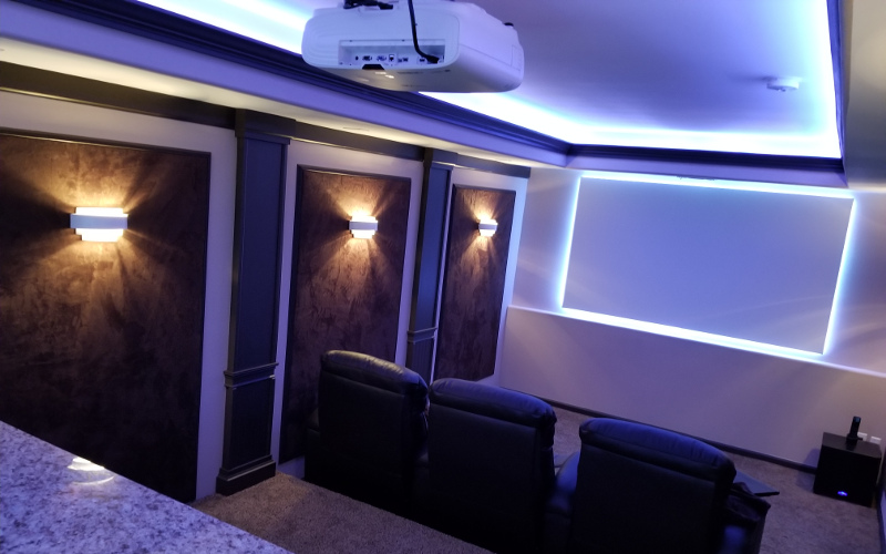 Home Theater Decor & Trim - Middle Tennessee