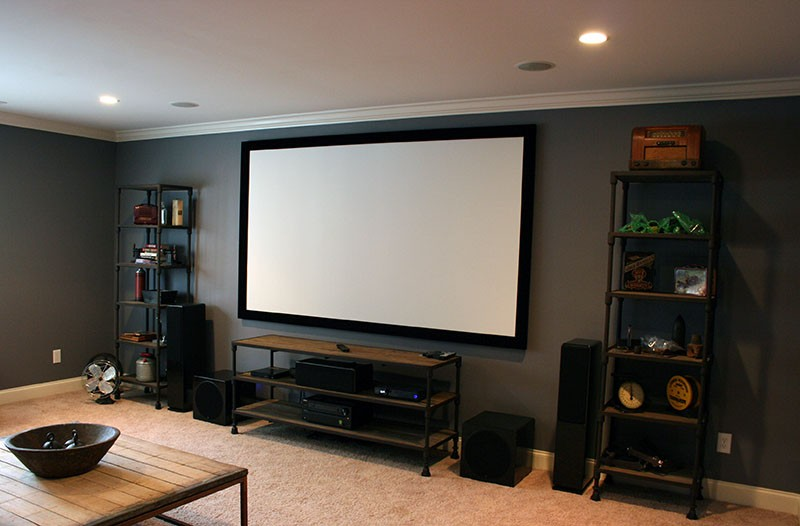 Home Theater Room Franklin Tennessee