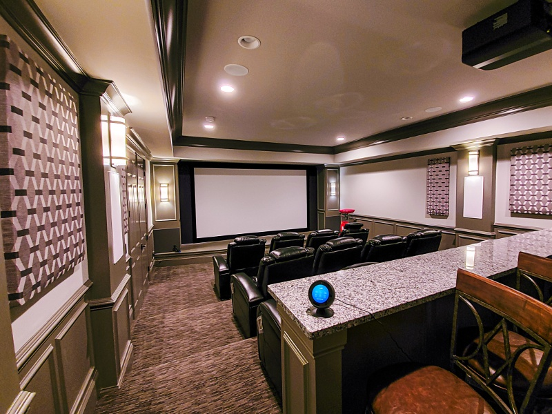 4K UHD Home Theater Projector & Screen Brentwood,TN