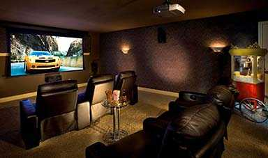 Home Theater Room Tennessee